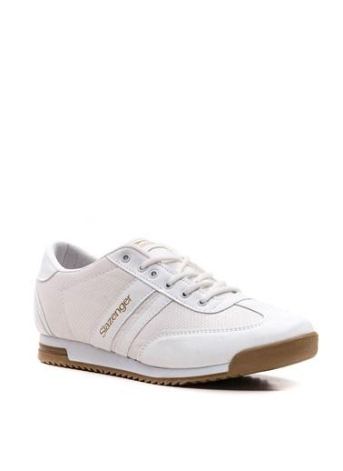 Slazenger Slazenger AKER I Yürüyüş Erkek Ayakkabı  Beyaz